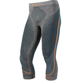 UYN Ambityon Melange UW Medium Pants Men black melange/atlantic/orange shiny